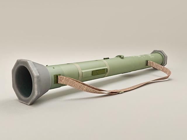 RPG Rocket Launcher 3d rendering