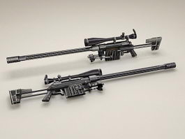 CheyTac Intervention M-200 rifle 3d model preview