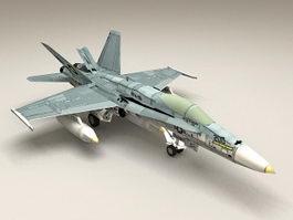 F18 Super Hornet 3d preview