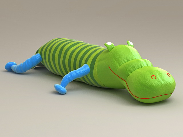 Bug Stuffed Toy 3d rendering
