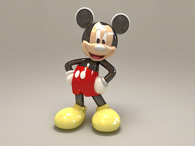 Mickey Mouse Statue 3d Model 3ds Max Files Free Download