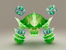 Water Elemental 3d preview
