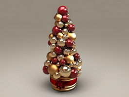 Christmas Ball Ornaments 3d model preview