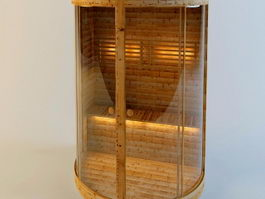 Mini Steam Sauna 3d preview