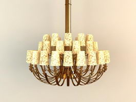 New Classic Chandelier 3d preview