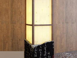Chinese Style Floor Lamp 3d preview