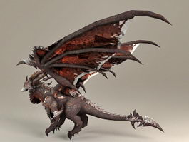 Deathwing the Destroyer 3d model preview