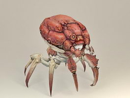 Giant Monster Crab 3d model preview