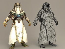 Lycan Priest 3d preview