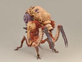 Alien Bug Warrior Concept 3d preview