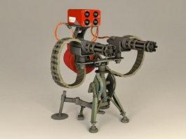 Sentry Gun 3d preview