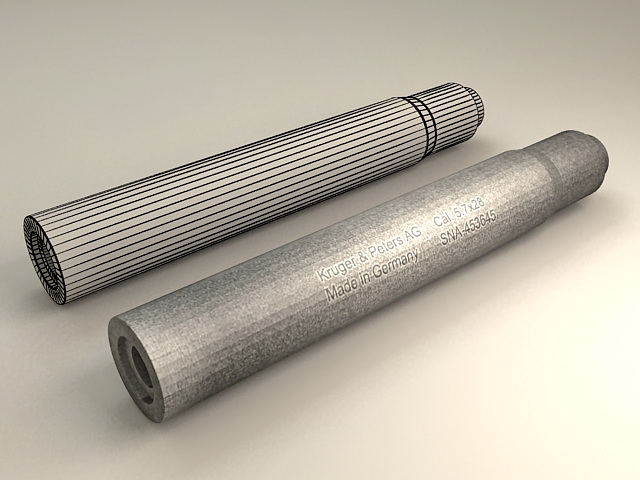 Kruger & Peter AG Suppressor 3d rendering