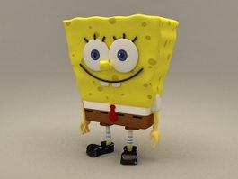 SpongeBob SquarePants 3d model preview