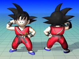 Son Goku Dragon Ball Character 3d model preview