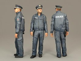 Police Officer 3d preview