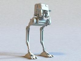 Future War Robot 3d preview