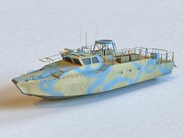 Navy Coastal Patrol Boat 3d preview