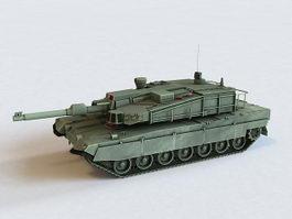 K2 Black Panther Tank 3d model preview