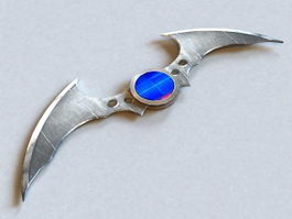 Remote Control Batarang 3d preview