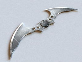 Batarang Batman Arkham Knight 3d preview