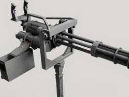 Vulcan Automatic Cannon 3d preview