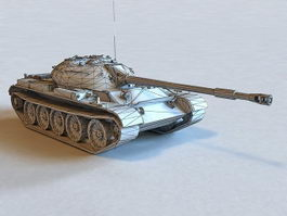 Russian T-54 Tank 3d preview