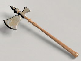 Executioner Medieval Axe 3d preview
