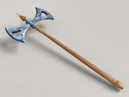 Ancient Greek Axe 3d model preview