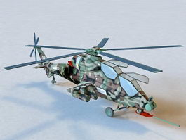 CAIC Z-10 Attack Helicopter 3d preview