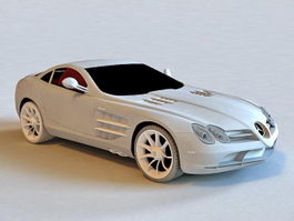 Mercedes SLR McLaren Roadster 3d preview
