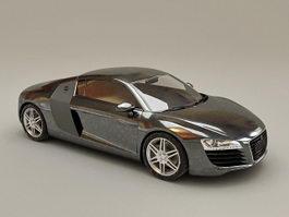 Audi R8 V8 Spyder 3d preview