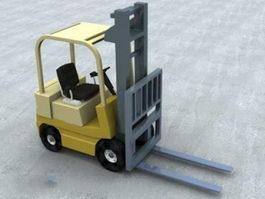 Forklift Truck 3d preview