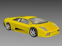 Lamborghini Murcielago Coupe 3d model preview