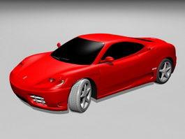 Ferrari 360 Sports Car 3d preview