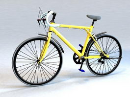 Randonneuring Bike 3d preview
