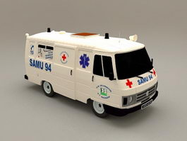 Ambulance Car 3d preview