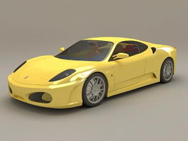 Ferrari F430 Berlinetta 3d preview