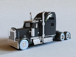 Long-nose Truck 3d preview
