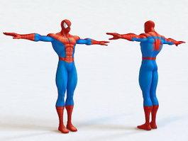 Spider-Man 3d model preview