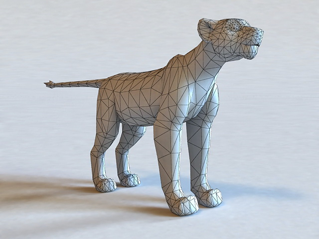 Nala The Lion King Character 3d rendering