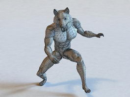 Mythical Creatures Werewolf 3d preview