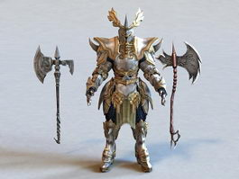 Fantasy Weapons and Armor 3d preview