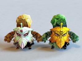 Plant Elemental Creatures 3d model preview