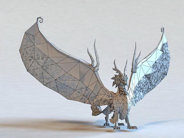 Fantasy Kylin Beast 3d rendering