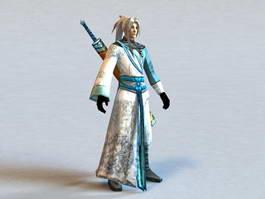 Male Swordsman Concept 3d preview