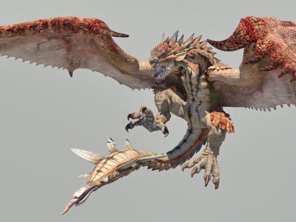 Dragon Monster 3d Model Maya Files Free Download