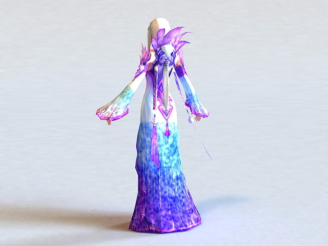 Fantasy Ancient Princess 3d rendering