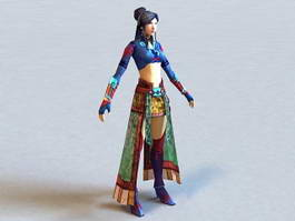 Ancient Chinese Woman 3d preview