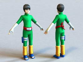 Naruto Rock Lee 3d preview