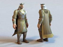 King Terenas Menethil 3d preview